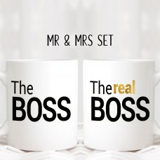 The Real Boss Mugs