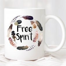 Free Spirit Feather Mug