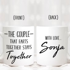 Couples That Farts Together Mug