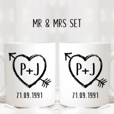 In Love Mug Set