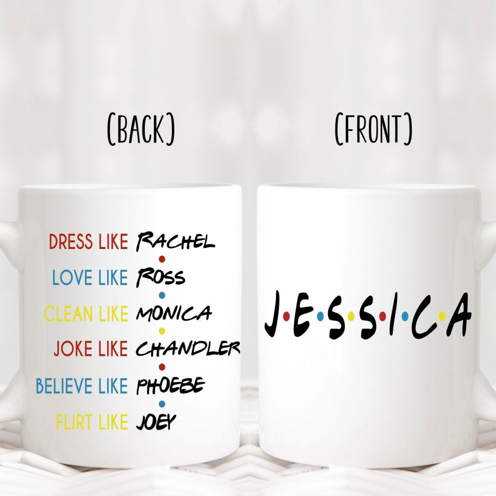 Friends Theme Mug