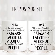 The Best Friendships Mug Set