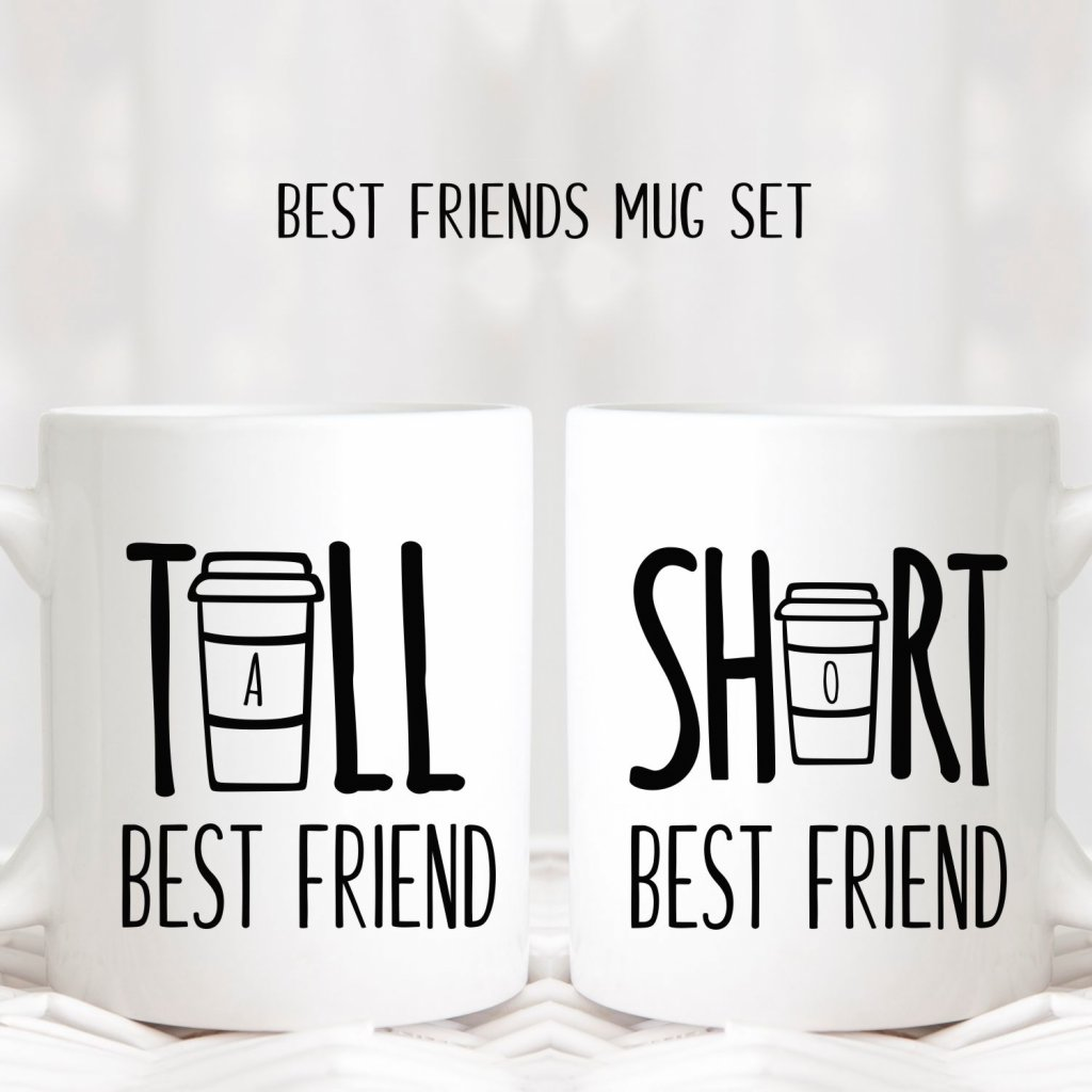 Tall & Short Best Friends Mugs