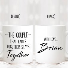 Couples That Farts Mug