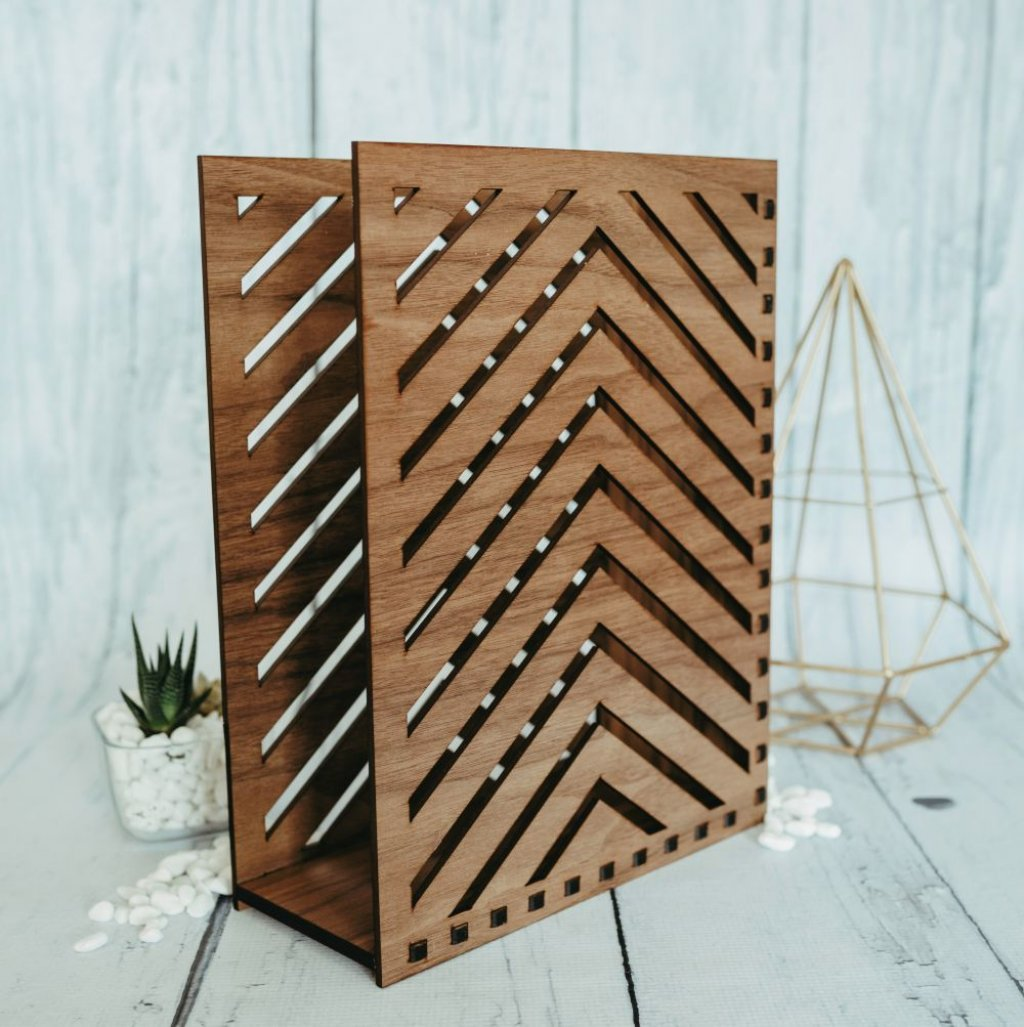 Striped Book Holder