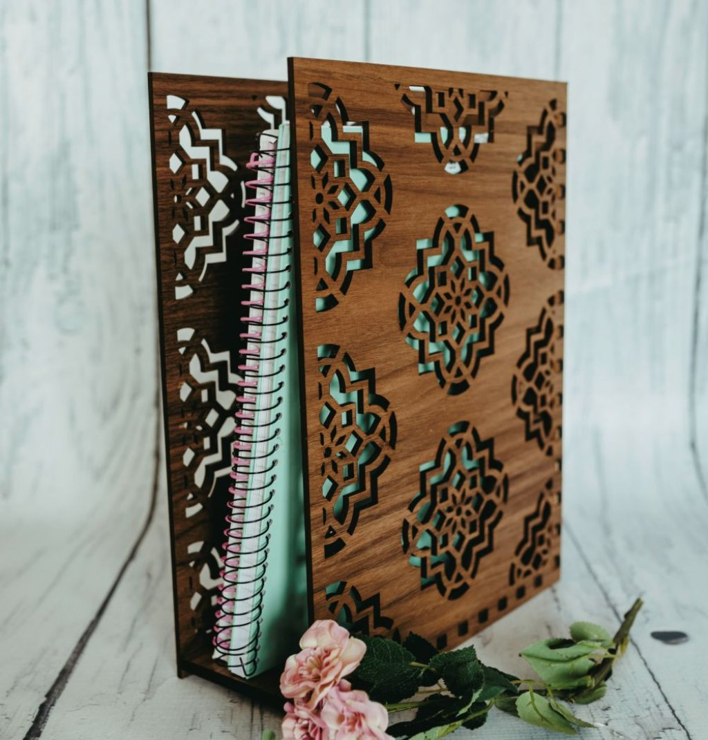 Damask Book Holder