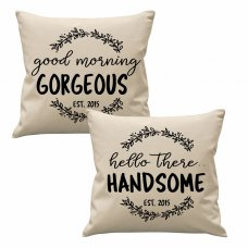 Good Morning Cushion Set