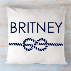 Nautical Name Cushion