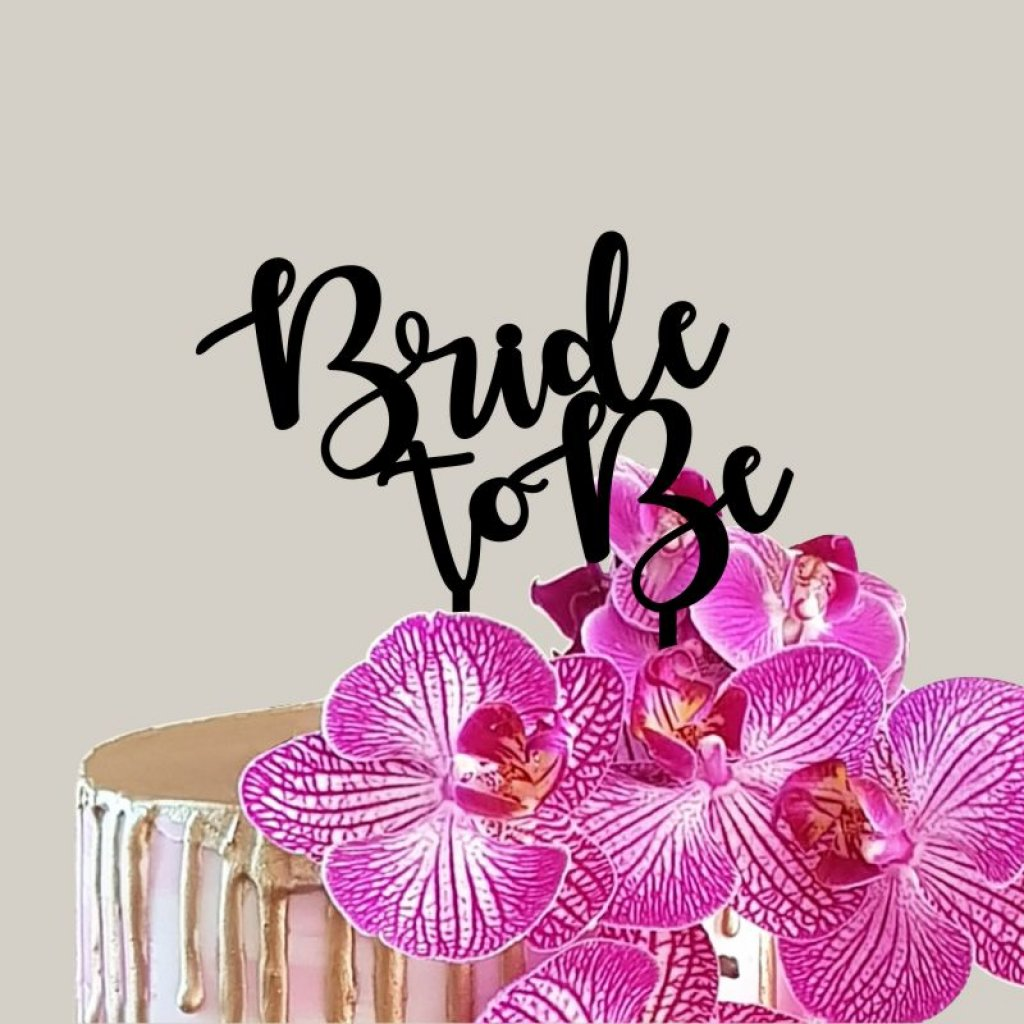 Bride To Be Topper 03