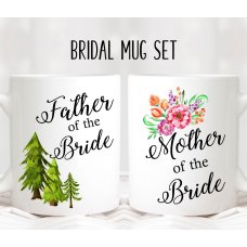 Floral Parents Mug Set 02