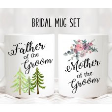 Floral Parents Mug Set 01