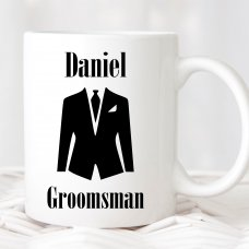 Groomsman Formal Suit Mug