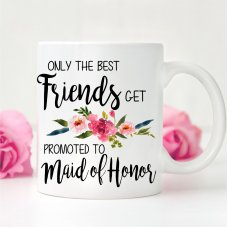 Promoted to Bridesmaid Mug