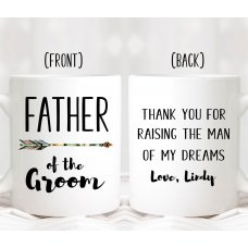 Arrow Father Mug