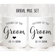 Heart Parents Mug Set