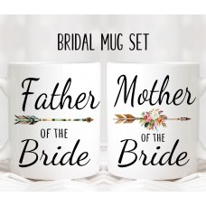Arrow Parents Mug Set