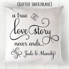 Love Story Cushion