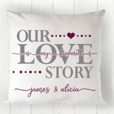 Our Love Story Cushion