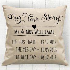 Story Timeline Cushion