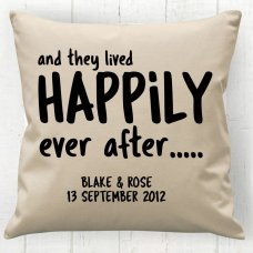 Happily Ever After Cushion