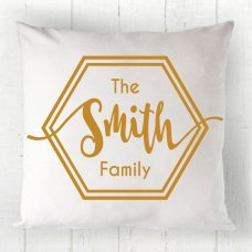 Geometric Family Cushion