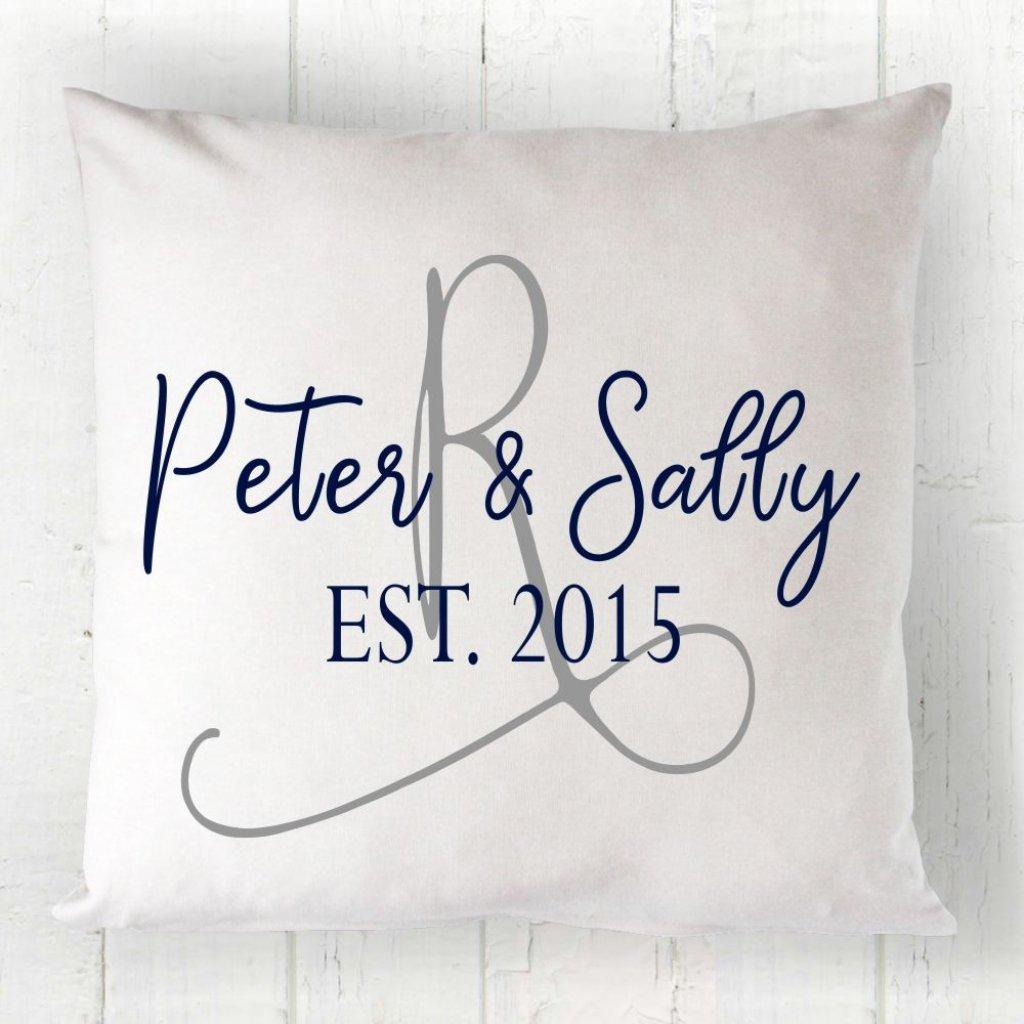 Couple Initial Cushion