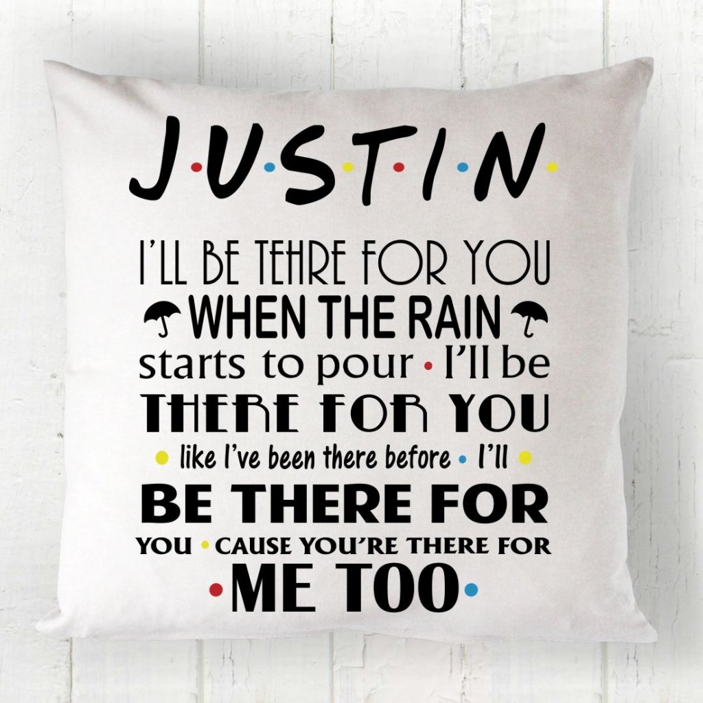 FRIENDS Sitcom Cushion