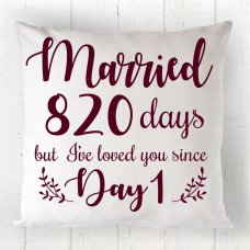 Married Days Cushion