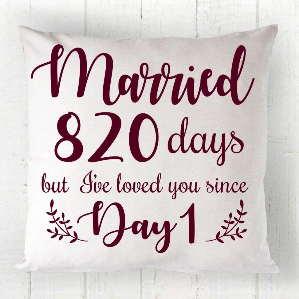 Married Days Cushion
