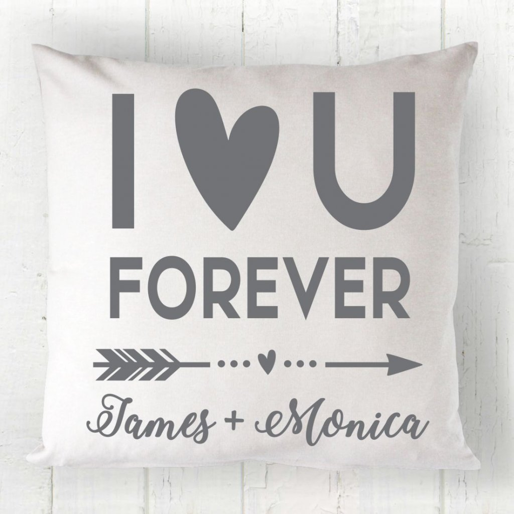 Love You Forever Cushion