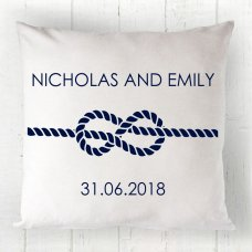 Nautical Couple Cushion