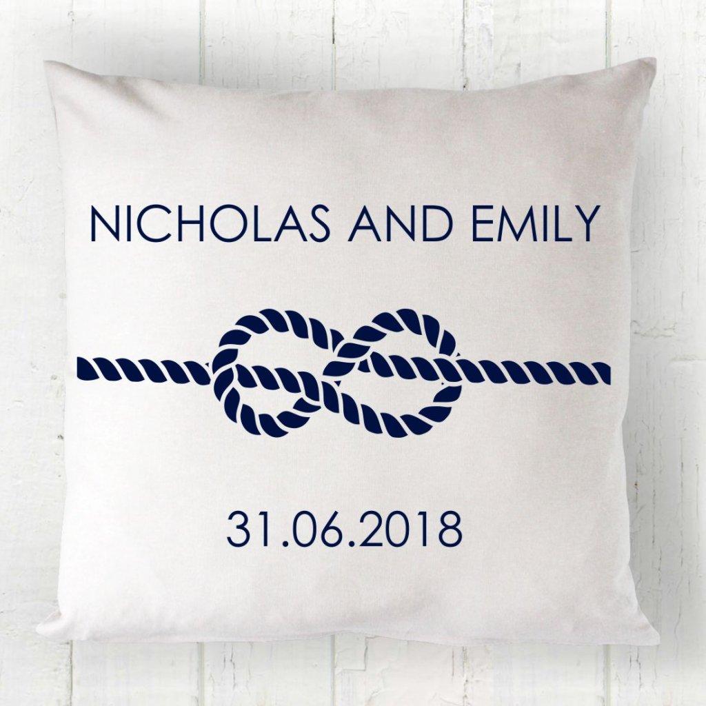 Nautical Couple Cushion