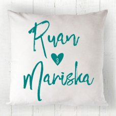 Heart Couple Cushion