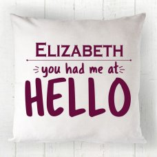 Hello Cushion 01