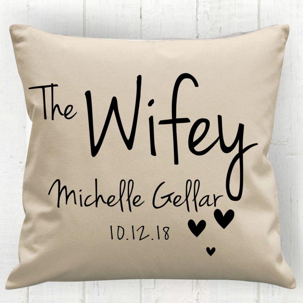 The Wifey Cushion