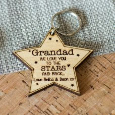 To The Stars Keyring