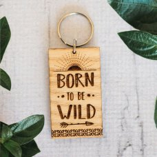 Born to Be Wild Keyring