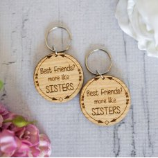 Best Friends Keyring Set