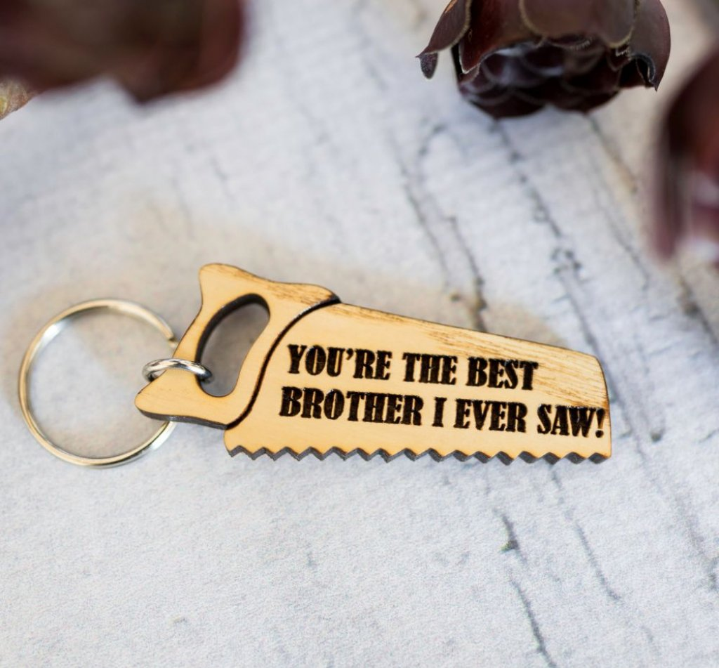 Best I Ever Saw Keyring