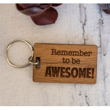 Be Awesome Keyring