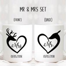 Hubby Wifey Mugs