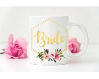 Geometric Wedding Mug